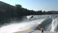 Water Skiing Athleticism